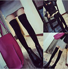 Fashion New Sexy Women Girl Lady Thigh High Over the Knee Socks Cotton Stockings
