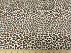 (Swatch Sample) Premier Prints Leopard Chocolate 17PR