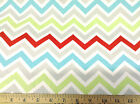 (Swatch Sample) Premier Prints Zoom Zoom Twill Chevron Zig Zag Harmony 15PR