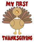 My First Thanksgiving  Childrens Baby tshirt onepiece