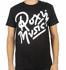 Firebrand Roxy Music Logo 2 Men's T-Shirt - Black FREE SHIPPING