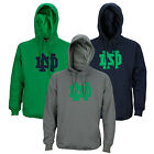 NCAA College Men's Notre Dame Training Day Fleece Pull Over Hoodie