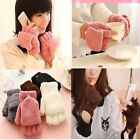 Fashion 1pair Fall Hand Wrist Warmer Winter Women's Fingerless Gloves