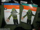 BOYS HALLOWEEN ZOMBIE COSTUMES NWT MED 6-8 & LG 10-12