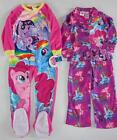 MY LITTLE PONY 4 5 6 6X 7 8 10 12 Pjs PAJAMAS Footed Sleeper or Shirt & Pants