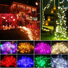 10M/20M 100/200LED Bulb Christmas Fairy Party String Lights Waterproof Lamp Rope