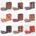12pcs 11x14cm Christmas Wedding Party Supplies Small Paper Gift Bag With Handles
