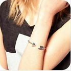 HOT Celebrity Vintage Metal Arrow Spike Bangle Cuff Bracelet Punk Rock Fashion