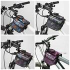 Cycling Bike Bicycle Front Top Tube Frame Bag Pannier Double Bag Pouch Fashion