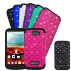 Phone Case For Alcatel Onetouch Pop Icon Cover Rugged Dual-Layered Crystal