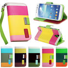 Flip Leather Wallet Stand Case Cover For Samsung Galaxy S3 S4 S5 Note 2 Note 3