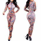 Women Bandage Sexy Fashion Bodycon Jumpsuits Bodysuit Club Wear Dress Rompers