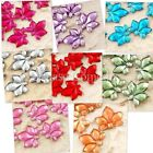 50 to 2,000 Maple Leaves Rhinestone Gem Wedding Table Scatters