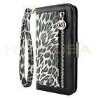 Luxury Leather Card Wallet Flip Case Cover For iPhone 6 6S 7 8 Plus X