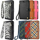 Luxury Leather Card Wallet Flip Case Cover for Apple iPhone 6 / iPhone 6 Plus