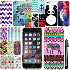 For Apple iPhone 6 4.7 inch Cute Design PATTERN HARD Case Phone Cover + Pen