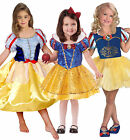 Girls Kids Snow White Cinderella Princess Minnie Mouse Fancy Dress Costume