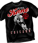 Patrick Kane Vintage Chicago Black Hawks Adult Size T - Shirt Black