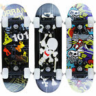 "NEW Childrens Junior Mini Satchel Skateboard 17"" x 5"" Outdoor Beginners Skate"
