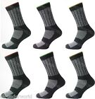 6 Pairs Mens Kato Work Boots Socks Workwear Safety Clothing Hard Wearing 6-14