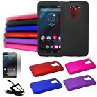 Phone Case For Motorola Droid Turbo Hard Cover Screen Protector Car Charger