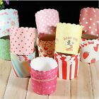 50pcs New Muffin Cake Cupcake Baking Paper Cake Cup Birthday Party DIY Cake-LA