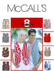 Sew & Make McCall's 8285 SEWING PATTERN - Adult Unisex His or Hers LINED VESTS