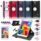 """For Samsung Galaxy Tab 4 7.0 inch 7"""" Tablet 360 Leather Case Cover SM-T230NU"""