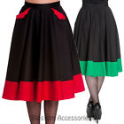 RKP69 Hell Bunny Bat Skirt Pinup Black Gothic Punk Rockabilly Vampire Halloween
