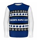 Toronto Maple Leafs Ugly Sweater - Wordmark One Too Many - NHL Christmas Holiday