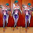 ❤XMAS GIFT~ Sexy Womens Jumpsuit Clubwear Bodysuit Romper Ballroom Party Catsuit