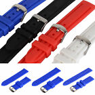 20/22/24mm Silicon Wrist Watch Band Strap for Sport Watch Unisex 4 Colors