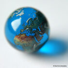 22 Millimetre Globe Marble Glass - Earth Navigation Maritime Chart Orrery Planet