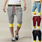 Mens Casual Sport Dance Shorts Gym Trousers Training Baggy Jogging Harem Pants