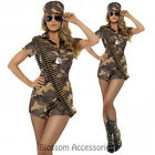 CL198 Army Girl Military FBI Soldier Uniform Fancy Dress Party Halloween Costume