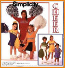 Sew & Make Simplicity 8278 Vintage SEWING PATTERN - Girls CHEERLEADER Costumes