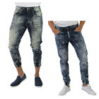 Jordan Craig Slim Fit Vintage Joggers Men's Denim Pants Jeans
