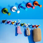 Multifunction aluminum colorful Clothes hook Bathroom single hook hanger 526