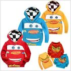 New Cars Lightning McQueen Kids Toddlers Boys Girls Hoodies Aged 2-8 Years