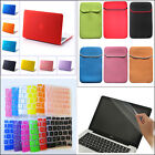 "4in1 Anti-Scratch Rubberized Matt Case Cover for MacBook Air White Pro 11"" 13 15"