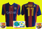 TOP FAN-OUT-FIT-FC BARCELONA-NEYMAR JR.-ROT/BLAU-GR.158-S-M-L UND XL-NEUWARE!