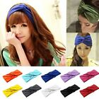 Hot New Women's Turban Twist Knot Head Wrap Headband Twisted Knotted Hair Band