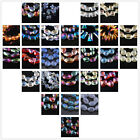 Lots Style Faceted Glass Crystal Charms DIY Jewelry Findings Loose Spacer Beads