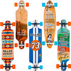 Miller Komplett Longboards Cruiser Downhill Freeride Drop Through Topmount NEU