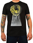 Men's Keyhole Tyson McAdoo Tattoo T-Shirt Sexy Pinup Girl Peep Show Black Tee