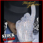 Fancy Dress DELUXE OFFICIAL REPLICA MICHAEL JACKSON BILLIE JEAN GEM STONE GLOVE