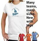 """WOMENS LADIES BASEBALL """"CRITICAL PLAY"""" T-SHIRT BY MAJESTIC CHOOSE TEAM   SIZE"""