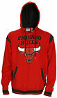 Zipway NBA Basketball Big & Tall Men's Chicago Bulls Hoodie Sweatshirt - Red
