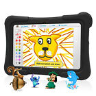 7'' Quad Core 8GB HD Tablet Android 4.4 KitKat Dual Camera WiFi Bundle for Kids