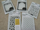 DoCrafts Papermania Xcut Embossing Folders A6 - 3D Stars or Art Deco Diamond